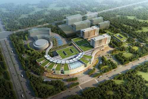 山西省儿童医院新院已开始进行桩基施工
