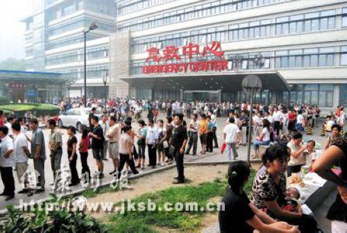 曾经北京儿童医院挂号排队排到二环边上